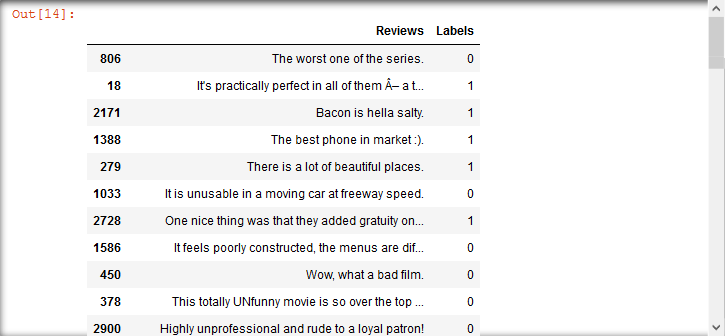 Sentiment analysis tutorial in Python: classifying reviews on movies
