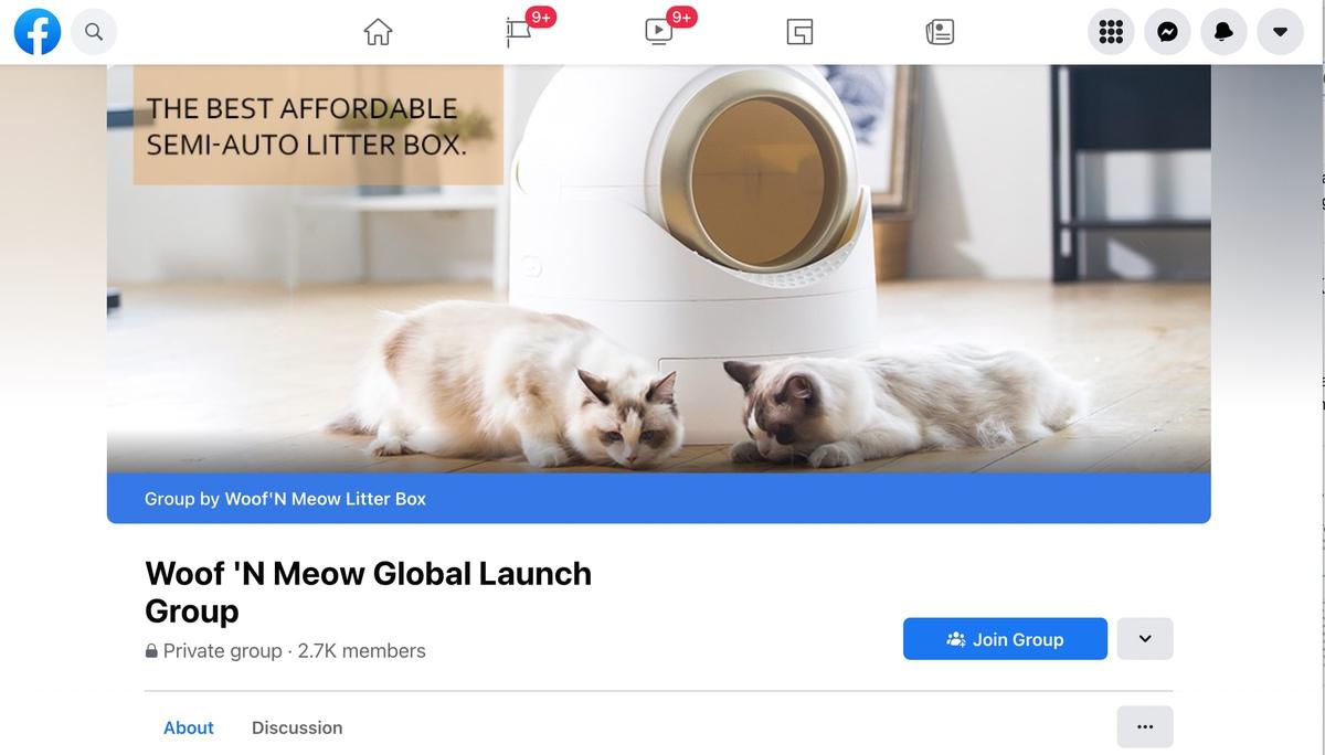 Woof n Meow Facebook group