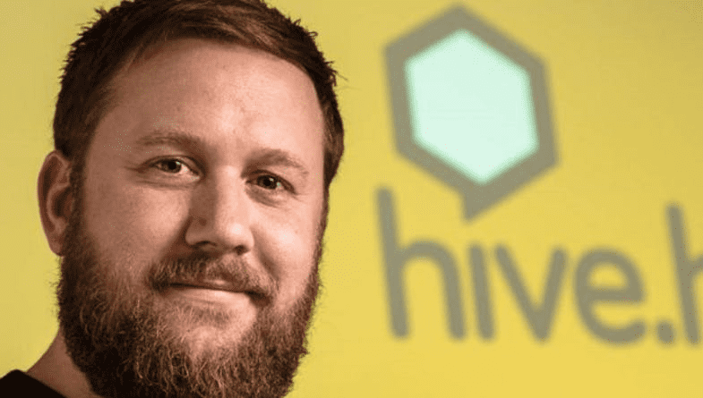 #entrepreneur John Ryder of HiveHR smiles at camera and talks about a day in the life SaaS with Futrli