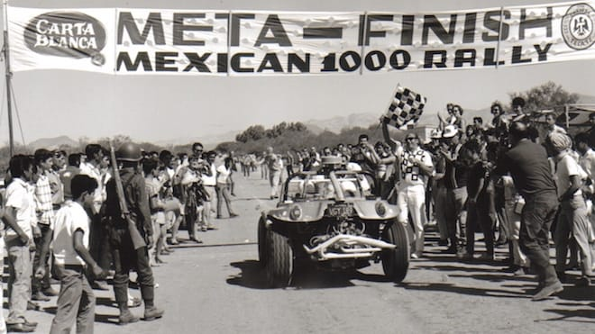Baja 1000 finish line in 1968