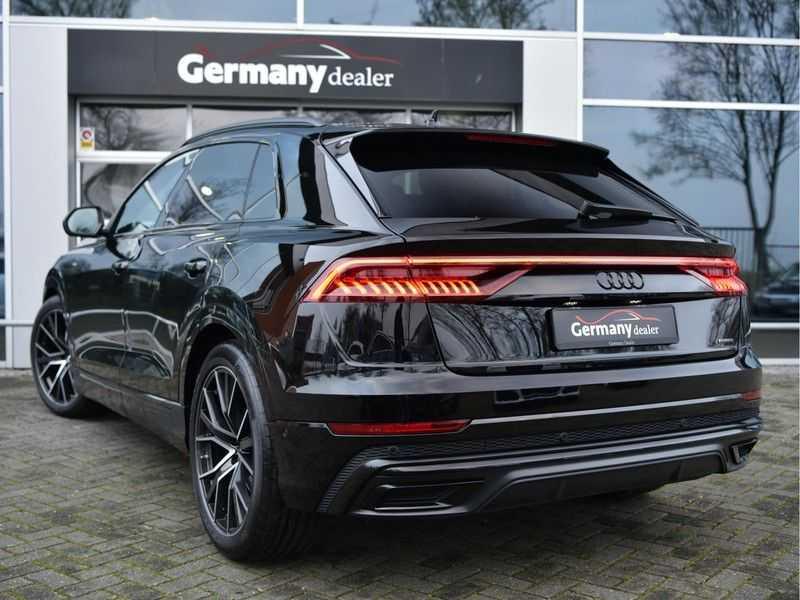 Audi Q8 50TDI 286pk Quattro S-Line Black Optic Lucht RS-zetels B&O High-end Alcant.Hemel TV Head-Up Standk ALLE OPTIES! afbeelding 14