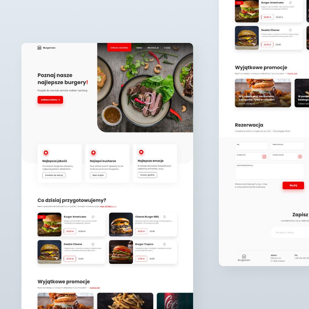 Burgerowo - simplyoff | Studio kreatywne