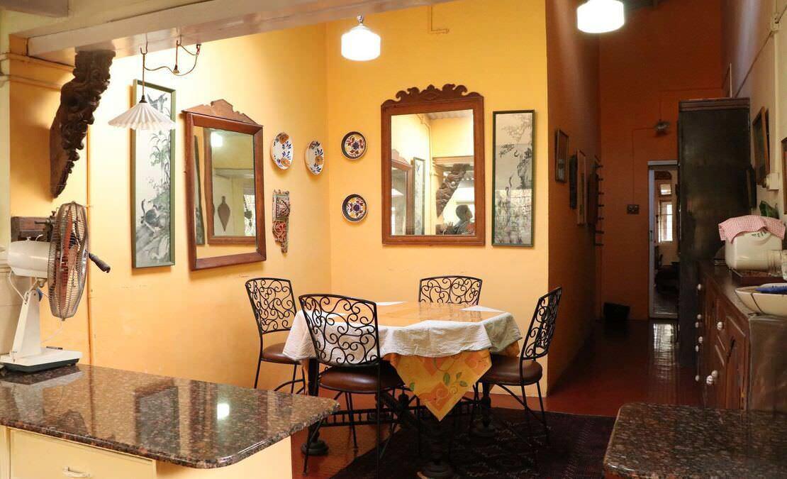 Dining corner at Kenilworth