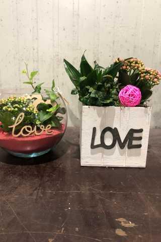 Duo bloemstuk