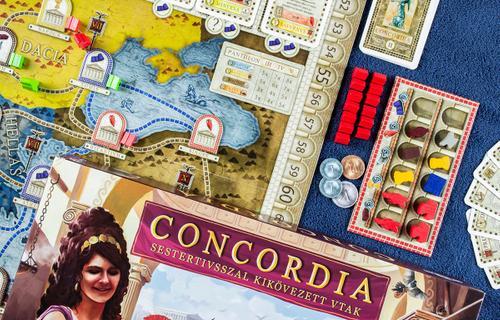 Concordia: Barangolás Róma provinciáin