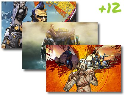 Borderlands theme pack