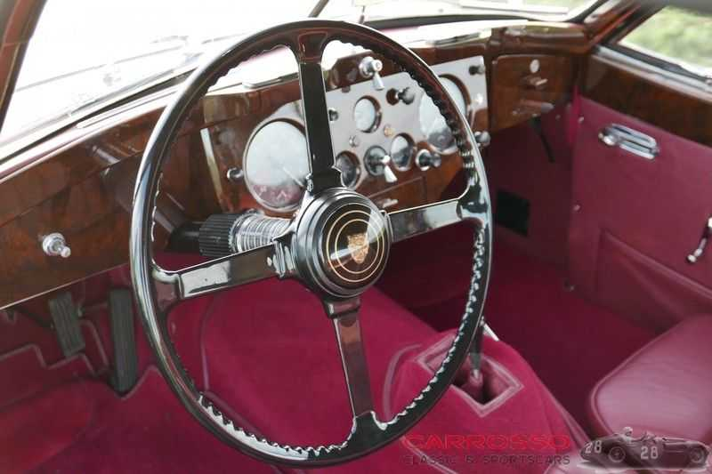 Jaguar XK 140 3.4 SE FHC / Nr. 28 of 8937 ! / Getrag gearbox afbeelding 19
