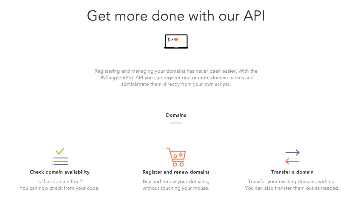 DNSimple API v2