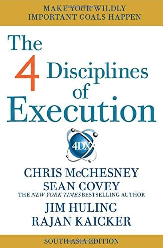 Book - The 4 Disciplines of Execution