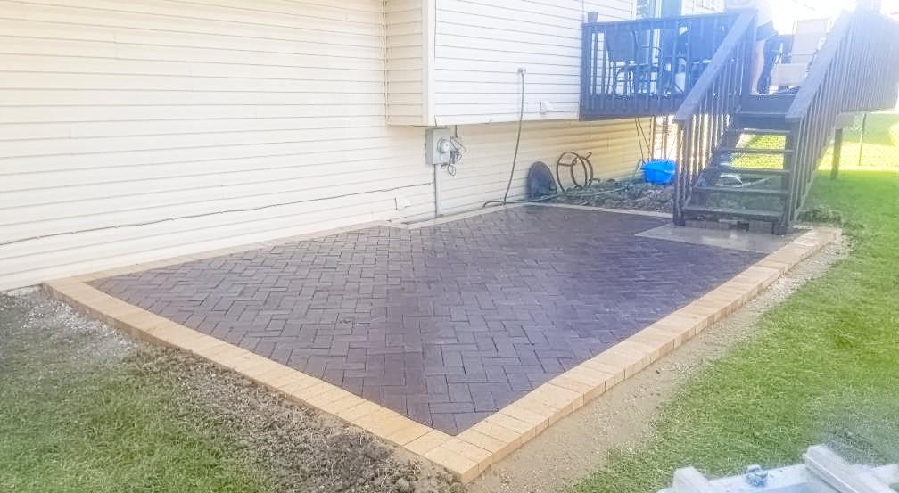 Potwin Construction patio remodel