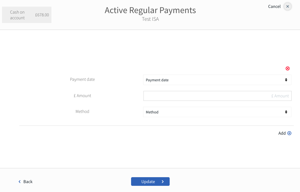 ui regular payments client