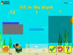 Subtract 1's and 10's within 100 Math Game
