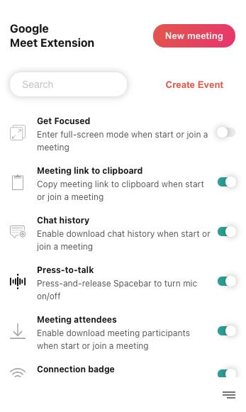 Meet Extension V5