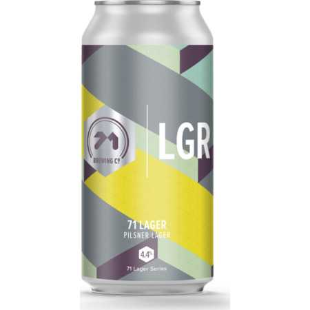 71 Lager by 71 Brewing