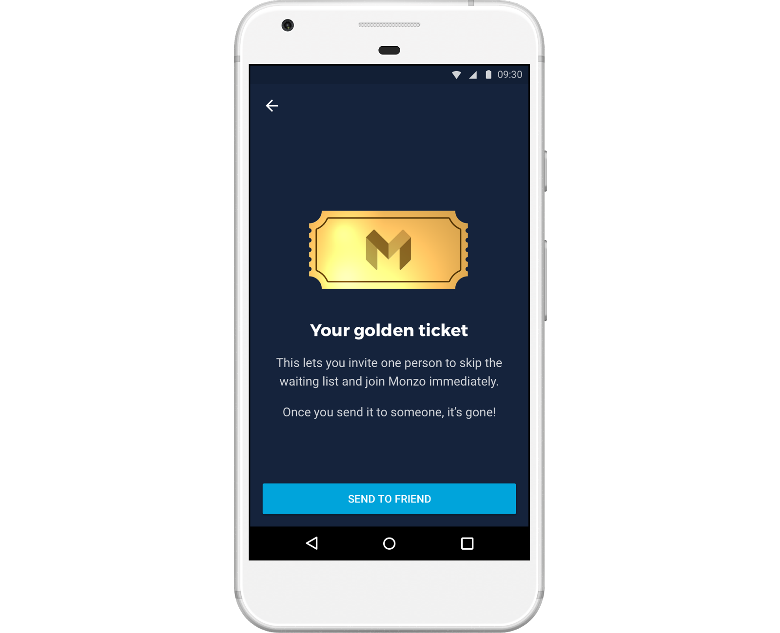 Monzo Golden Ticket