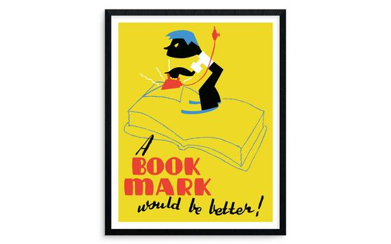 A Book Mark Would Be Better
