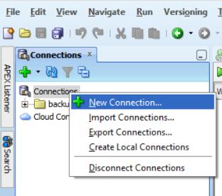 Opening SQL developer on Azure