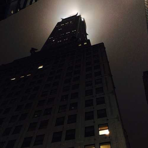 Ominous Chrysler Building