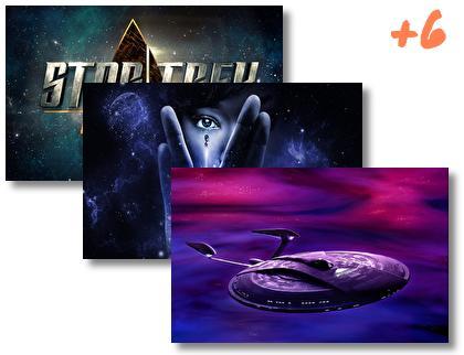 Star Trek Discovery theme pack