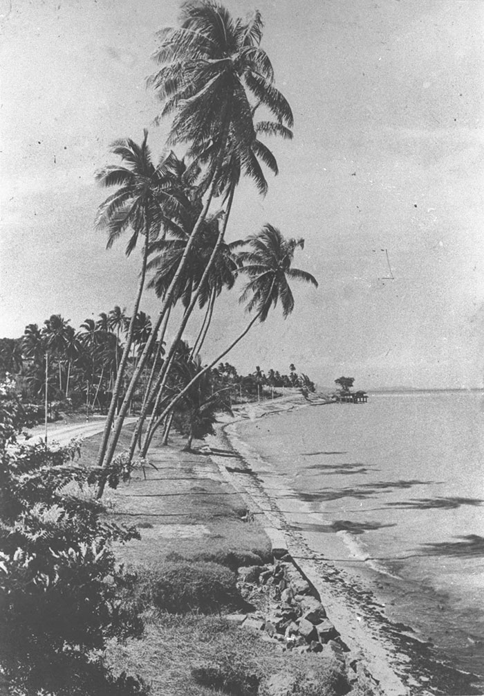 Beach at Tanjong Katong, 1920s