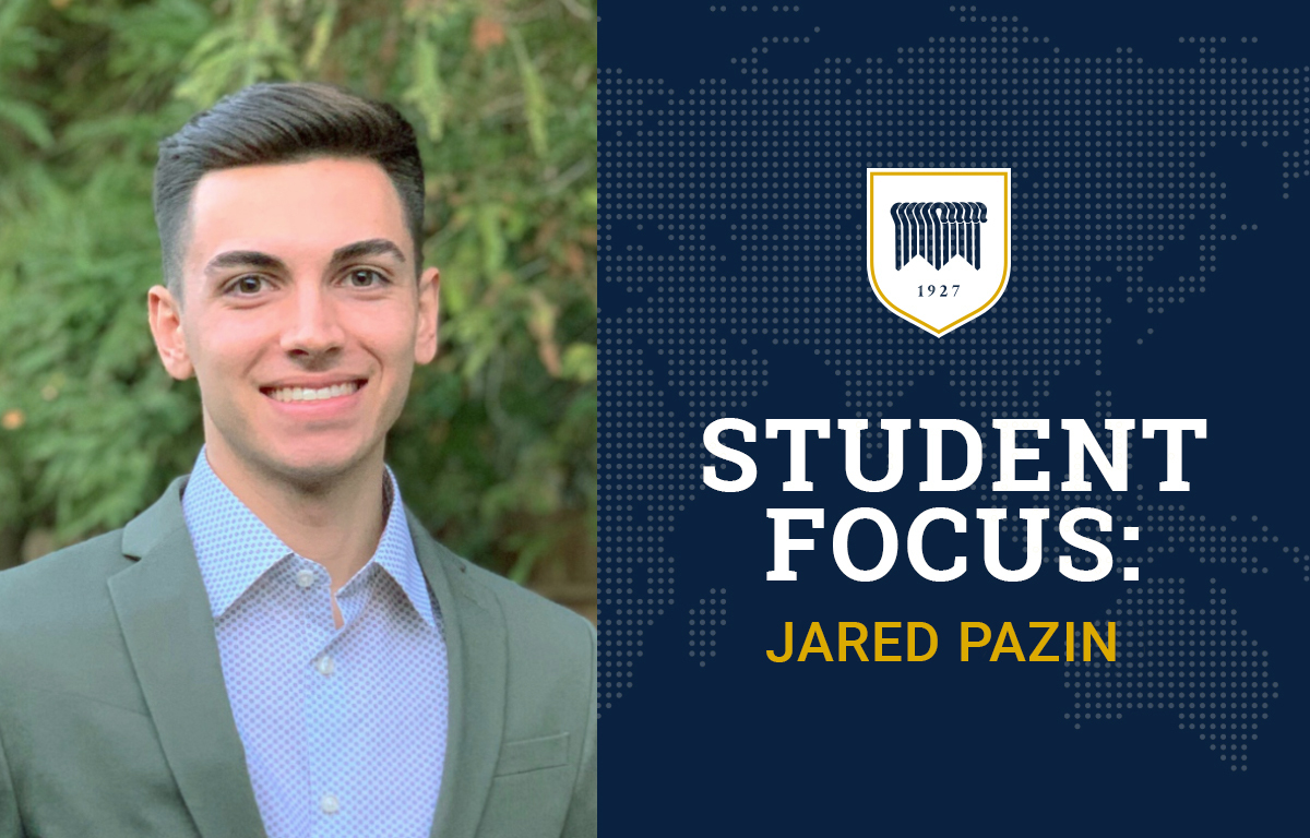 Student Focus: Jared Pazin image