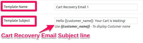 Abandoned cart email subject lines