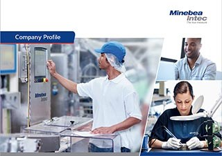 catalog profil companie Minebea