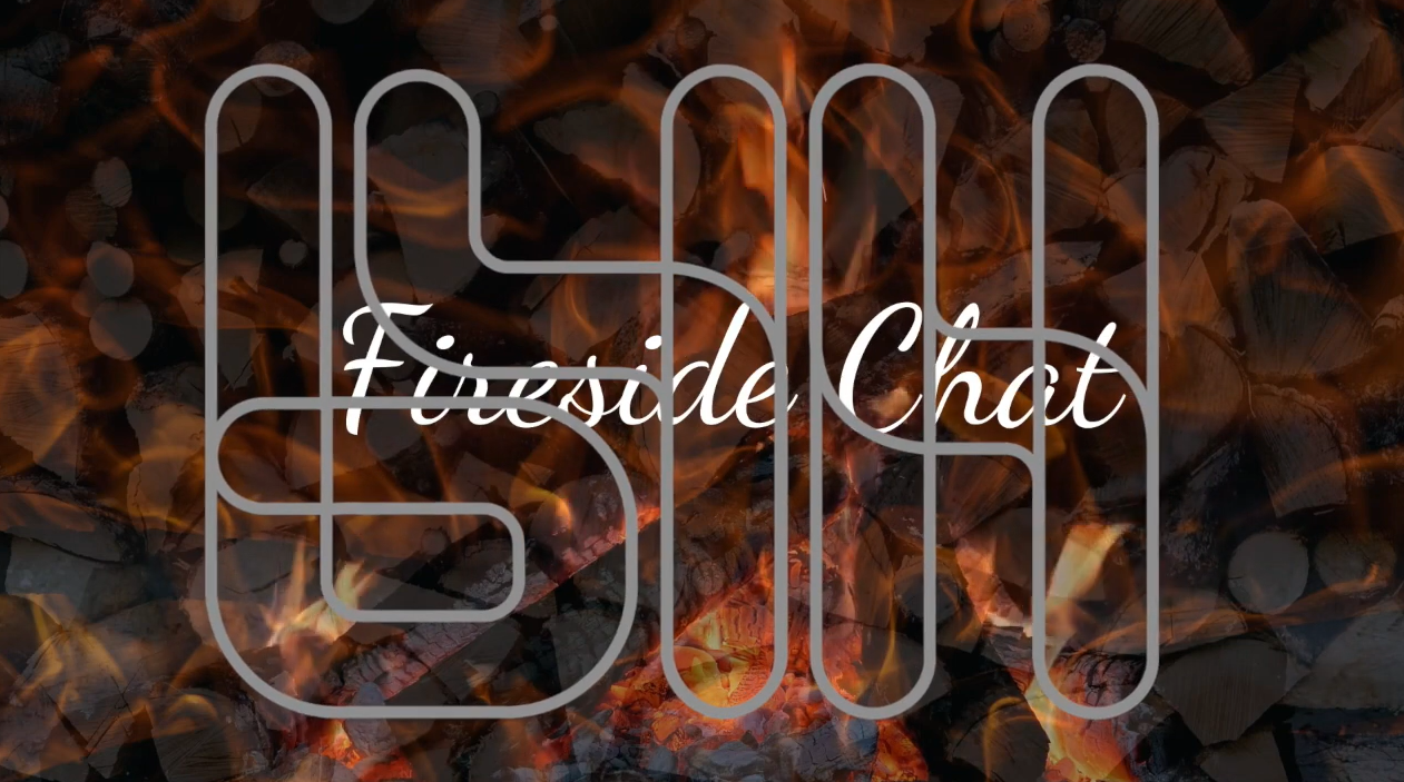 Fireside chat logo