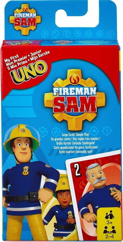 Fireman Sam My First Uno