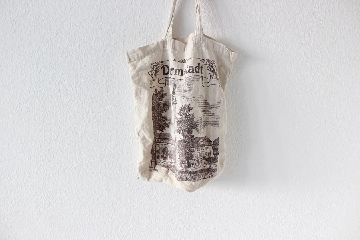 Eine Stofftasche mit dem Darmstadt-Motiv