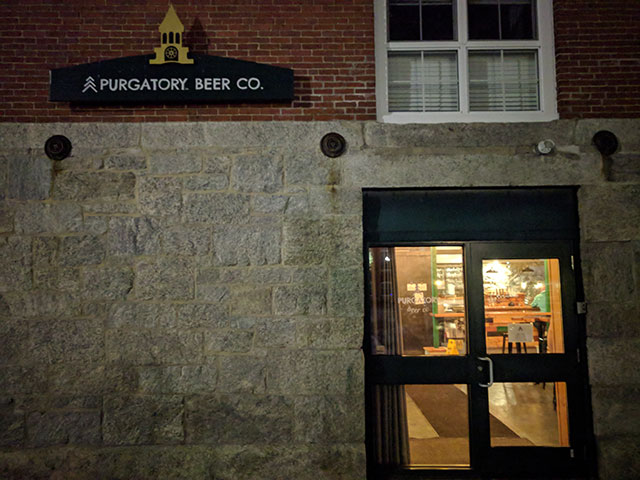Purgatory Beer Company in Whitinsville, MA