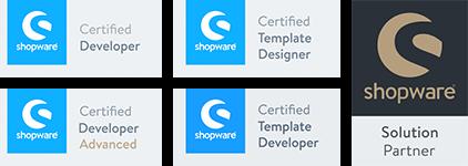 Shopware Partner + Zertifikate