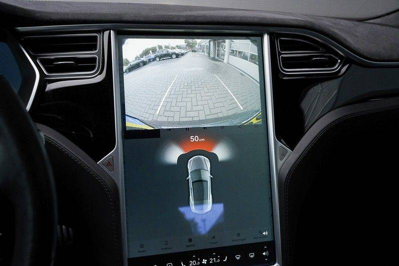 Tesla Model S 85D Performance 700pk Free Charging Pano Leer afbeelding 21