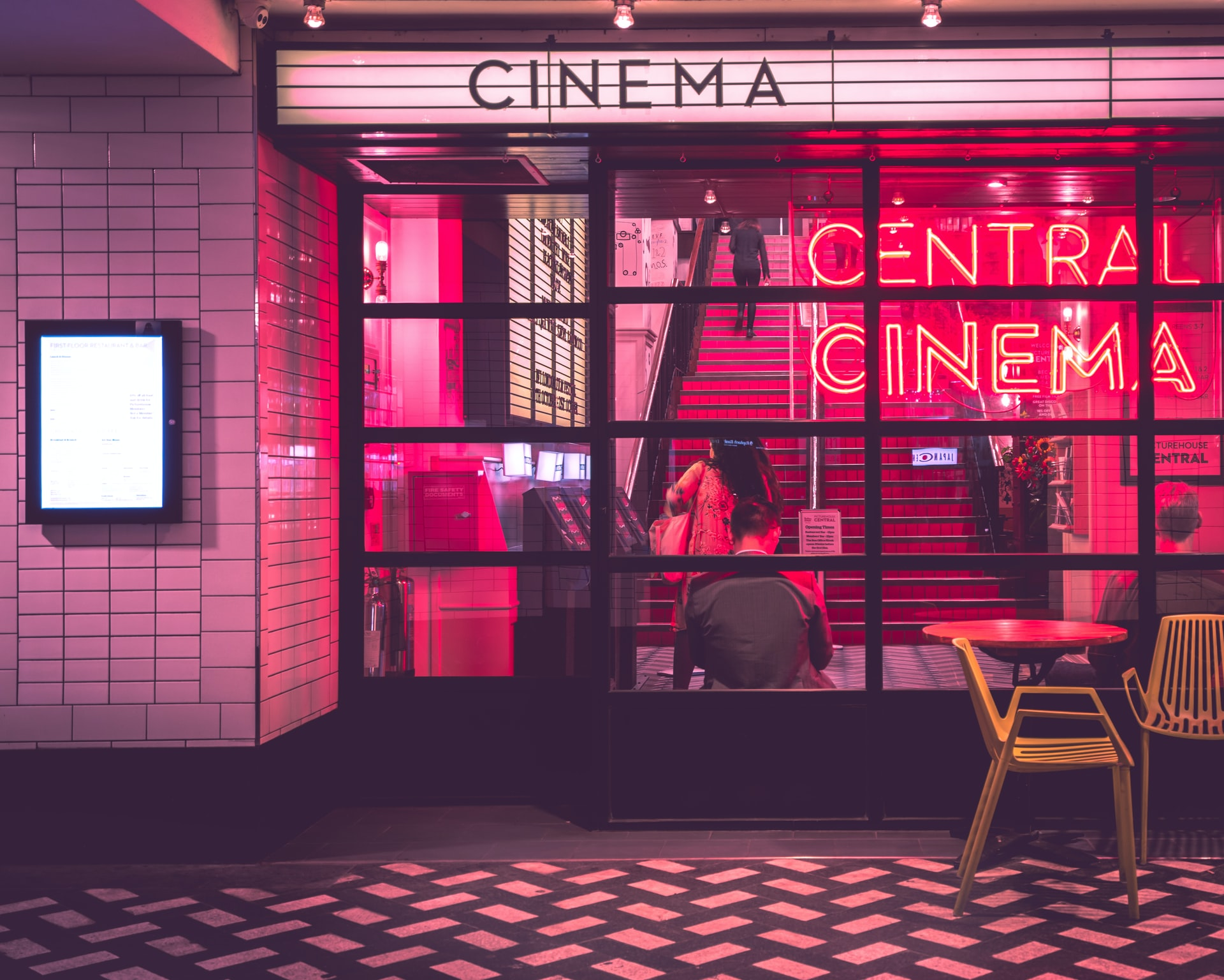 Image of a cinema.