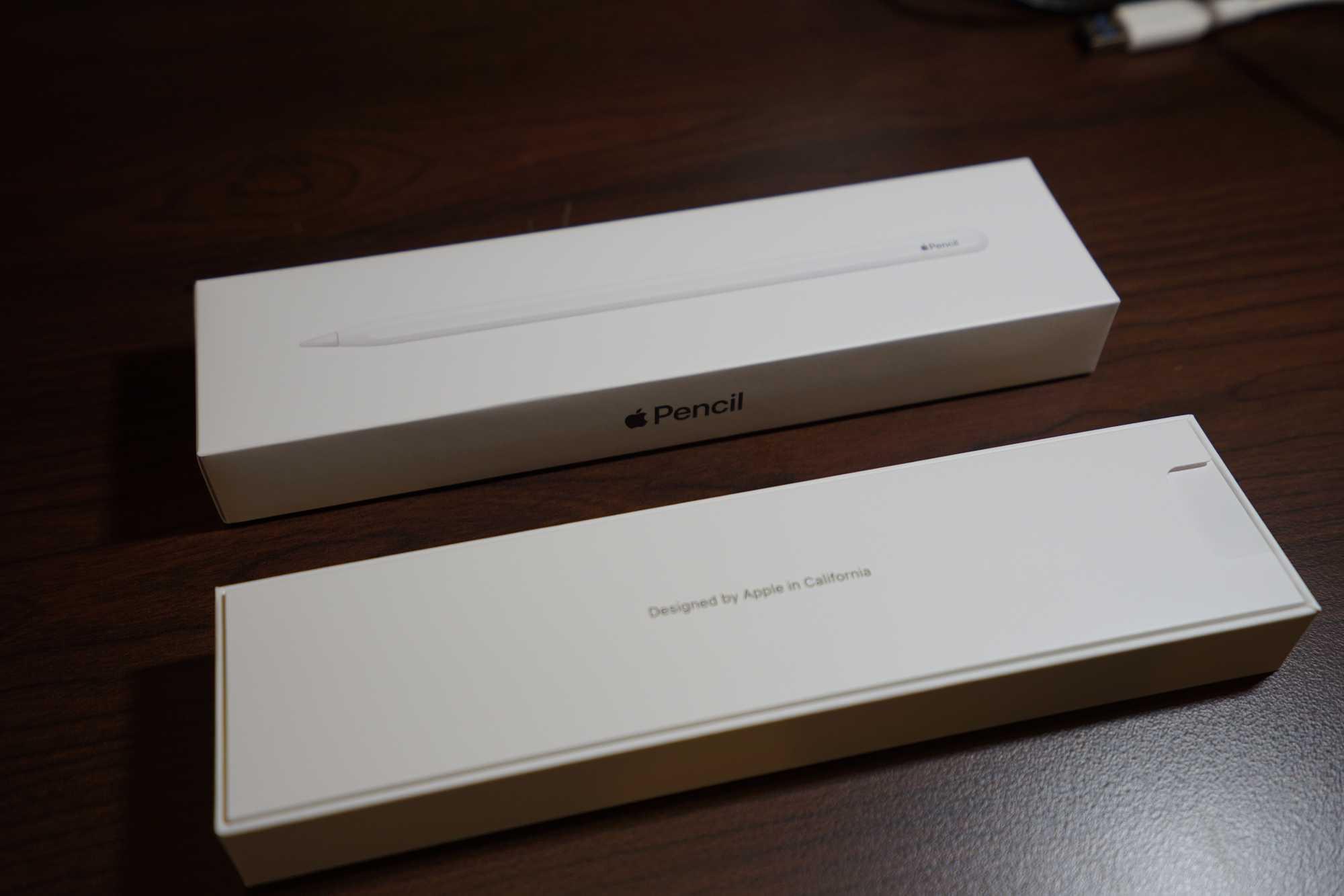 Inside Apple Pencil Box
