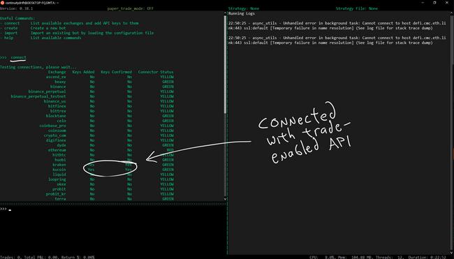 4 c connect command