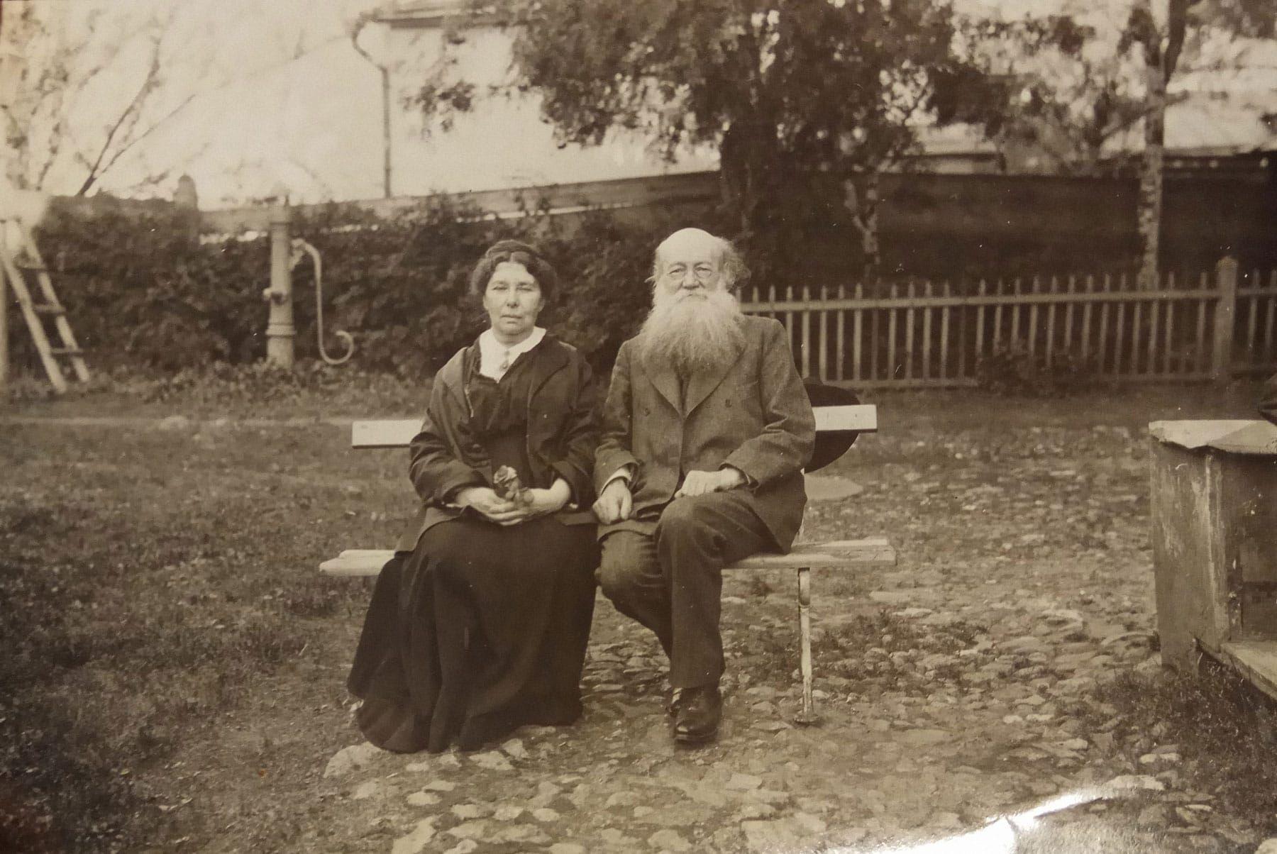 Петр Кропоткин с женой Софьей. Источник: kropotkin.ru