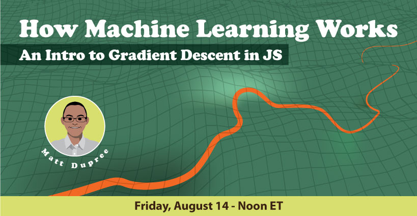 Banner for An Intro to Gradient Descent in Javascript