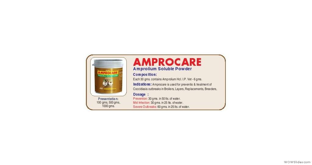 Amprolium Soluble Powder