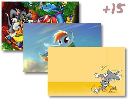 Cartoon theme pack