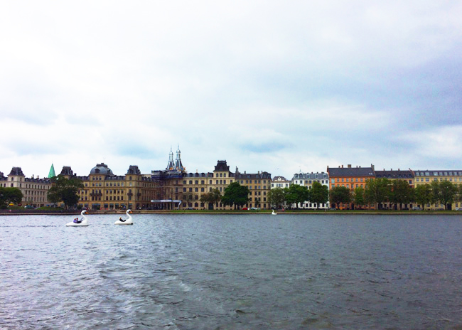 Crossing the water to Norrebro