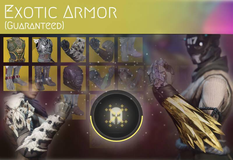 Exotic Armor (Guaranteed)