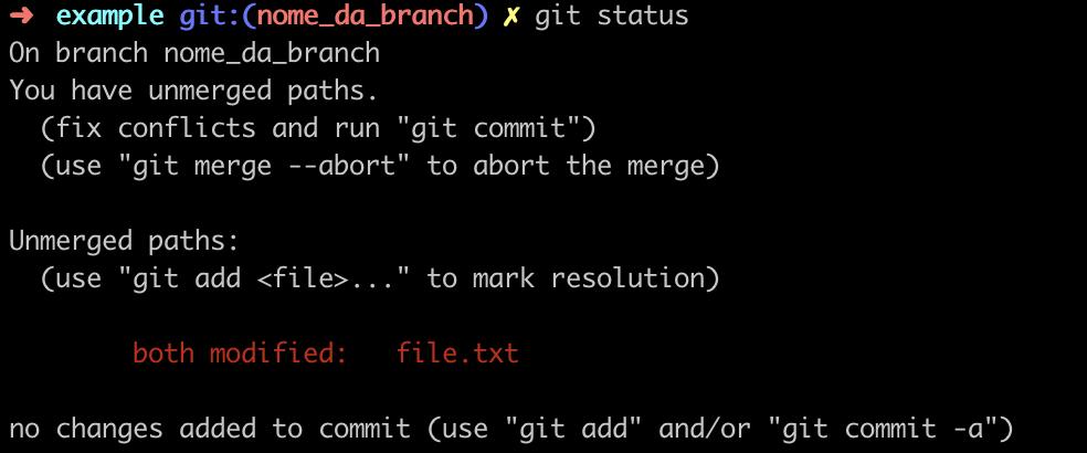 Conflitos no Git