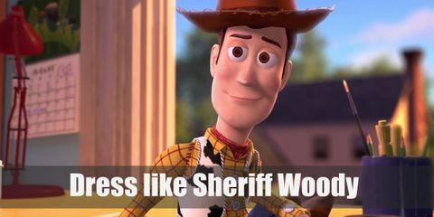 Dress Like Sheriff Woody (Toy Story) Costume