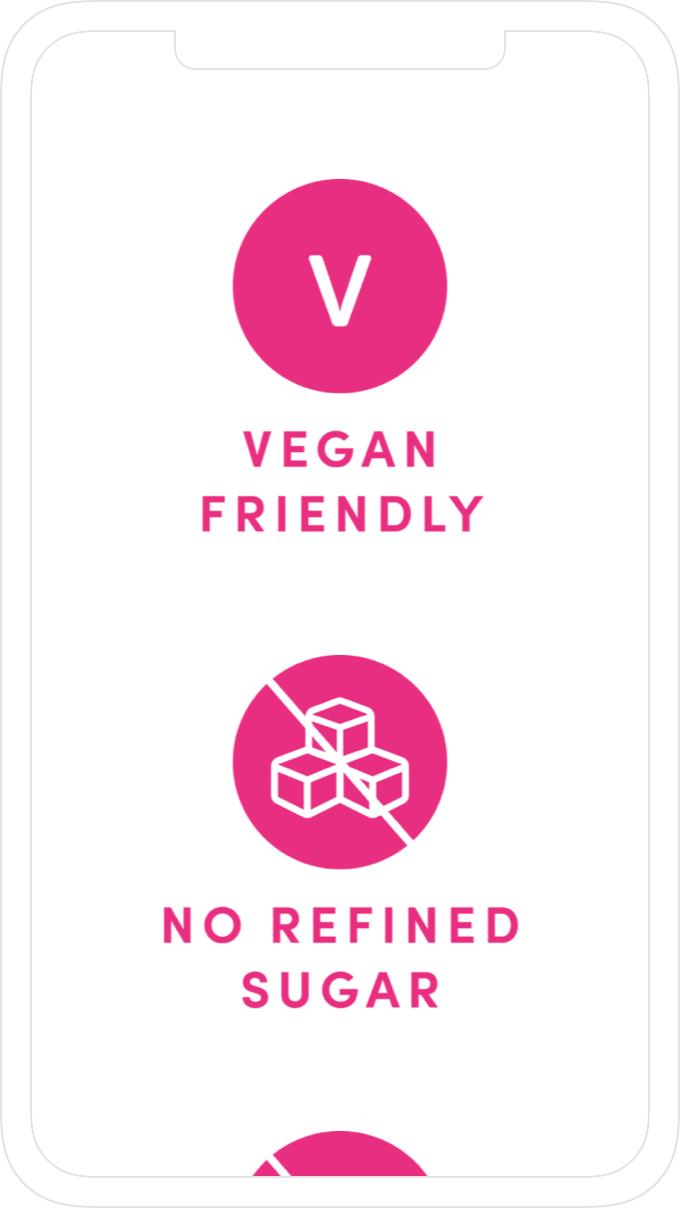 Illustration, icon design and website design by Jack Watkins for Camilla Ainsworth's nut milk brand, M+LKPLUS