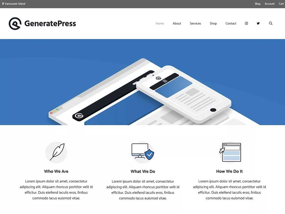 wordpress theme  0006 generatepress