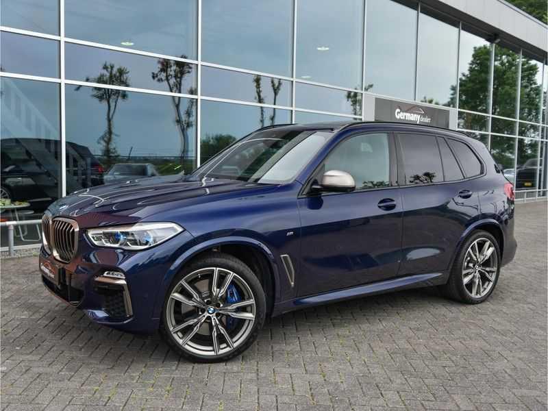 BMW X5 M50d M-Sportpakket Laser-LED H&K Pano Head-Up Swarovski Comf.Zetels 22-Inch! afbeelding 1