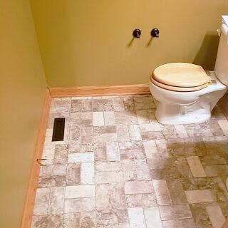 Potwin Construction flooring remodel