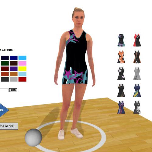 Virtual dress room