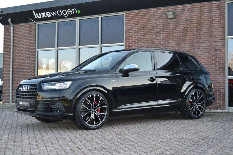 Audi SQ7 4.0 TDI 435pk quattro Pano Nachtz ACC HUD 4wielbest Ruitstiksel Luchtv 22inch Carbon afbeelding 6